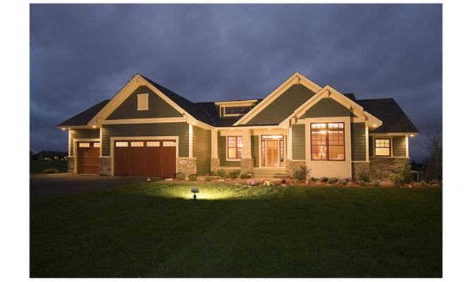 Gavin Craftsman Ranch Home Plan House Plans