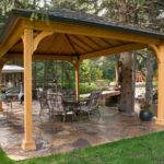 Gazebo Designs Ideas Wood Vinyl Octagon Rectangle