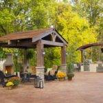 Gazebo Plans Fireplace Homesfeed