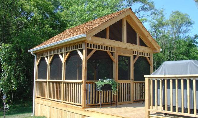 Gazebo Screened Room Builders Illinois Hoffman Estates