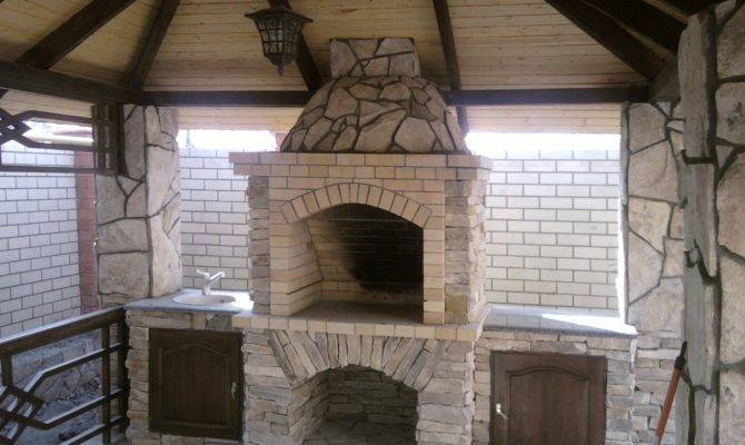 Gazebos Fireplace Pixelmari