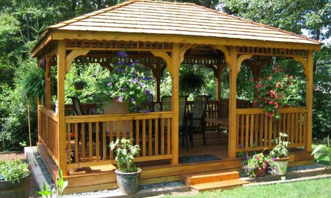 Gazebos Wooden Garden Shed Plans Compliments Build
