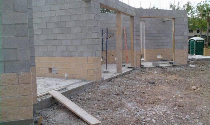 Genius Concrete Block Garages Home Plans Blueprints House Plans 129569