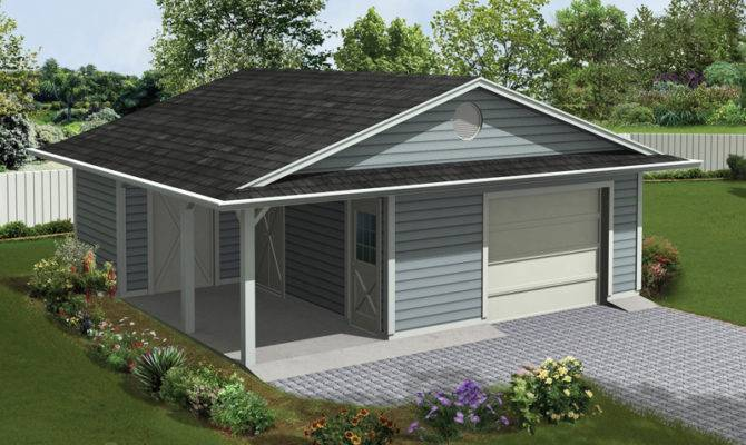 Genius Garage Plans Porch Architecture