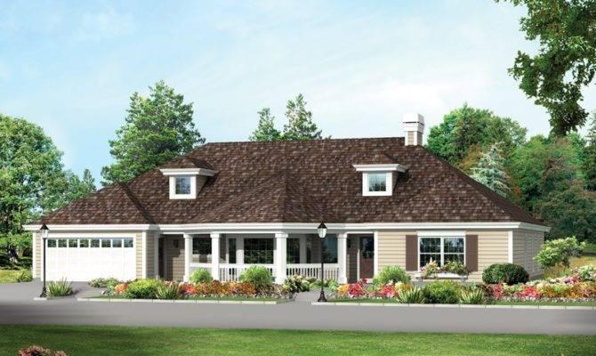 Georgia Manor Colonial House Plan Alp Chatham Design Group