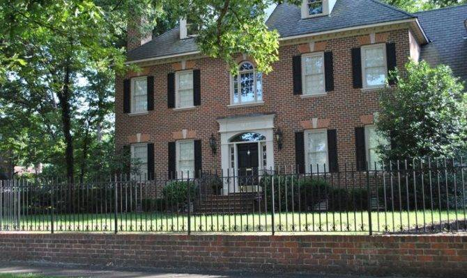 Georgian Colonial Home New House Ideas Pinterest