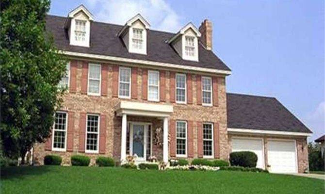 Georgian Colonial House Plans Home Plan Tpc