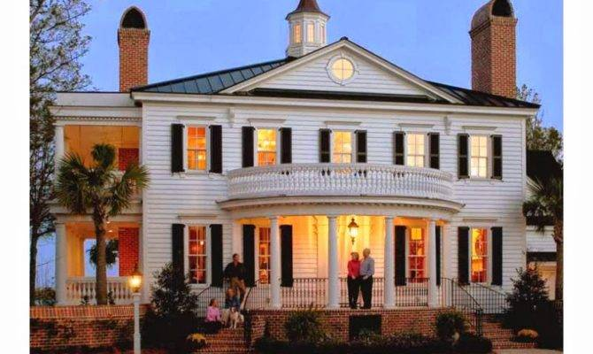 Georgian Colonial House Style Firstly Made Has