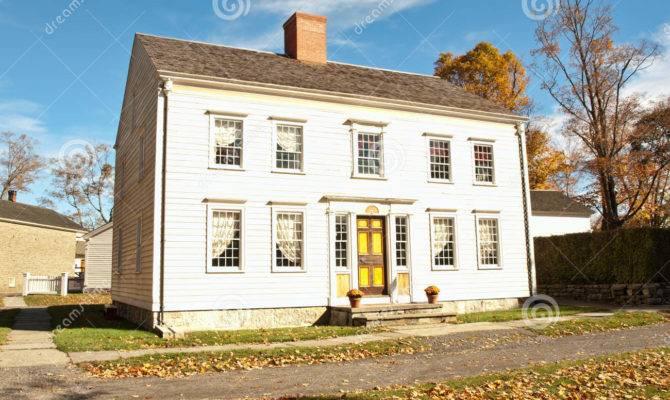 Georgian Colonial House