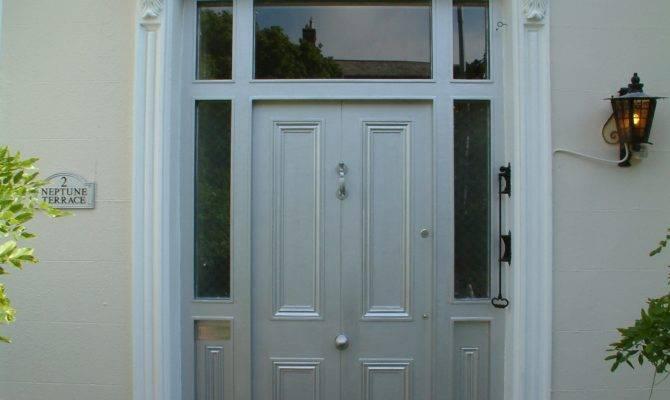 Georgian Doors Red Door Fan Light