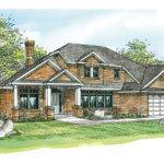 Georgian House Plans Ainsworth Associated Designs