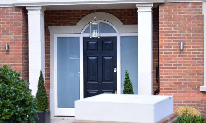 Georgian Style Front Door Fitted North London