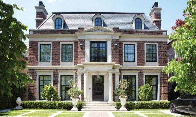 Georgian Style Home Architecture Residential Pinterest