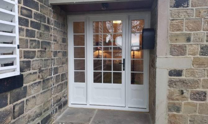 Georgian Style Wooden Front Door Stable Baildon