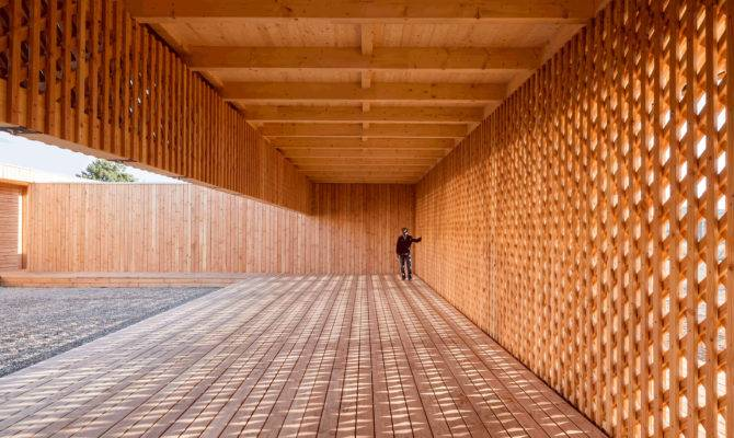 German Architecture Students Design Wooden Community