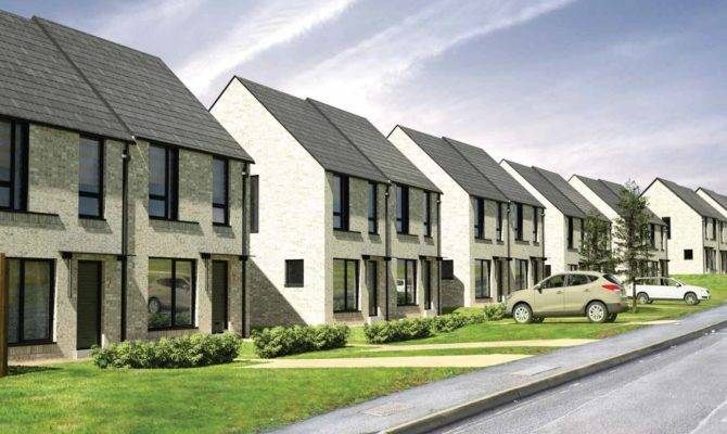 Gha Press Ahead Latest Castlemilk Infill Housing