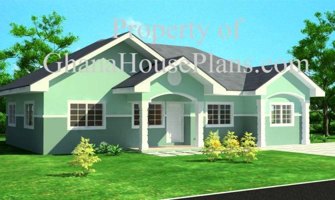 Ghana House Plans Elmina Plan