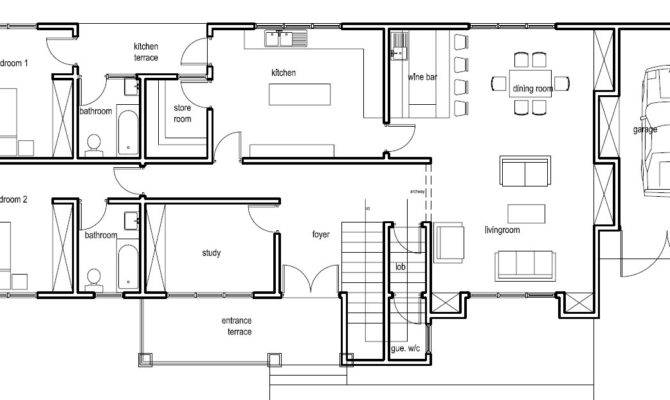 Ghana House Plans Nana Hemaa Plan
