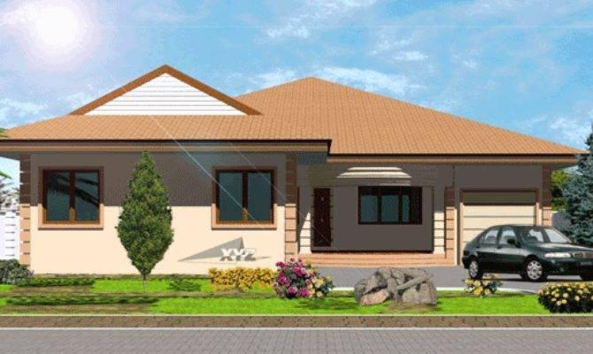 Ghana House Plans Okyeame Plan