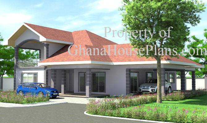 Ghana House Plans Ransford Plan Big