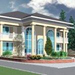 Ghana House Plans Yaa Naa Plan