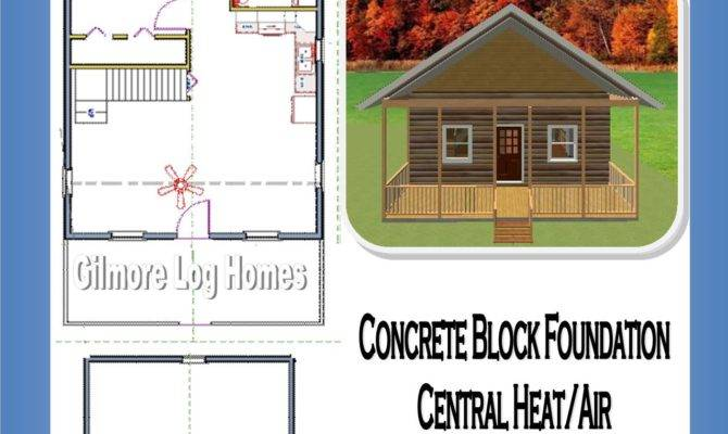 Gilmore Log Homes Floor Plans