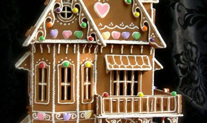 Gingerbread House Patterns Victorian Style Design