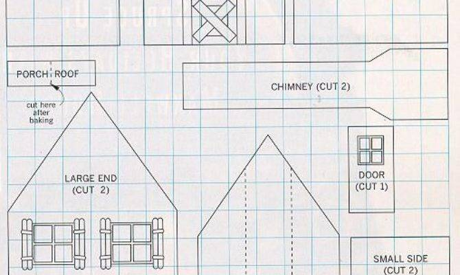 Gingerbread House Plans