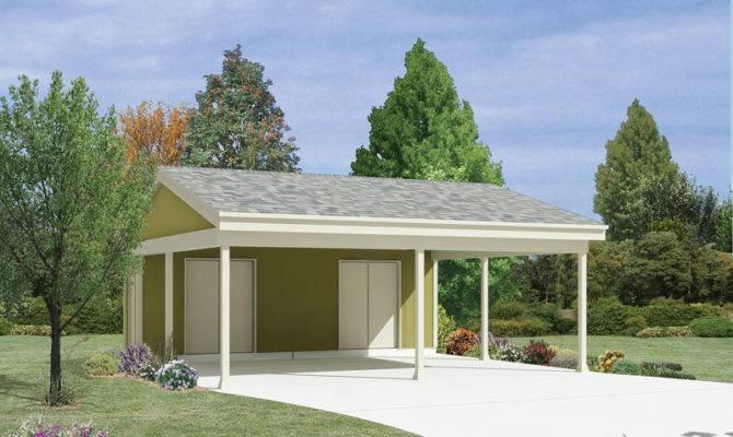 Giordana Carport Storage Plan House Plans More