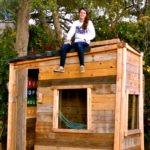 Girl Power Cool Fort Shack Tiny House Tyler Rodgers