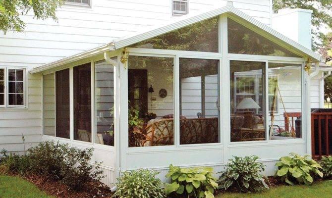 Glass Enclosed Porch Plans