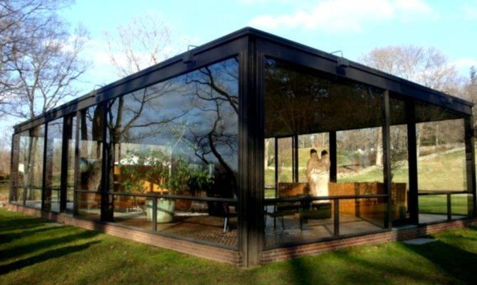 Glass House Philip Johnson Design Academia Architecture