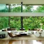 Glass House Plans Designs Interior