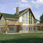 Glenford Bay Waterfront Home Plan House Plans