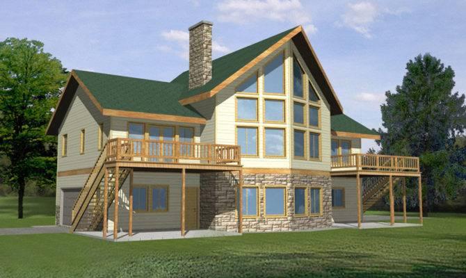 Glenford Bay Waterfront Home Plan House Plans