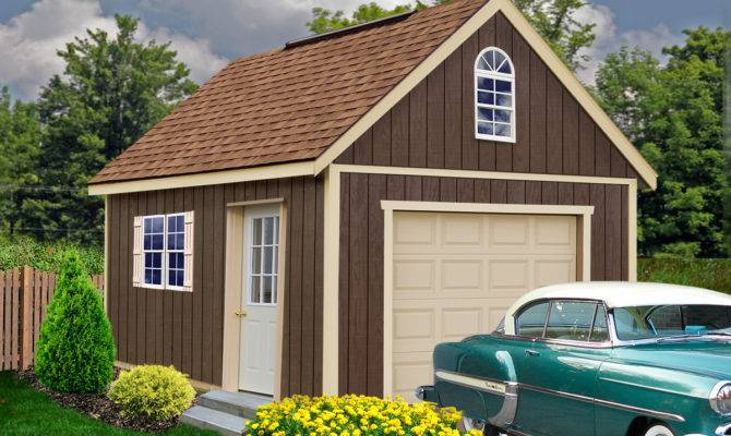 Glenwood Garage Kit Wood Best Barns