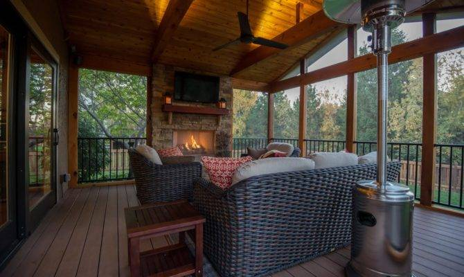 Going Build Custom Screened Porch Want