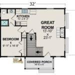 Golden Eagle Log Homes Floor Plan Details Blue Stone Reversed