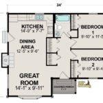 Golden Eagle Log Homes Floor Plan Details Red Lake Reversed