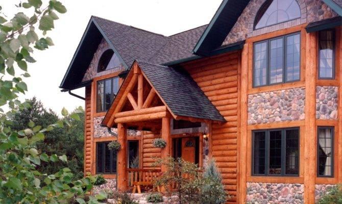 Golden Eagle Log Timber Homes Home Cabin
