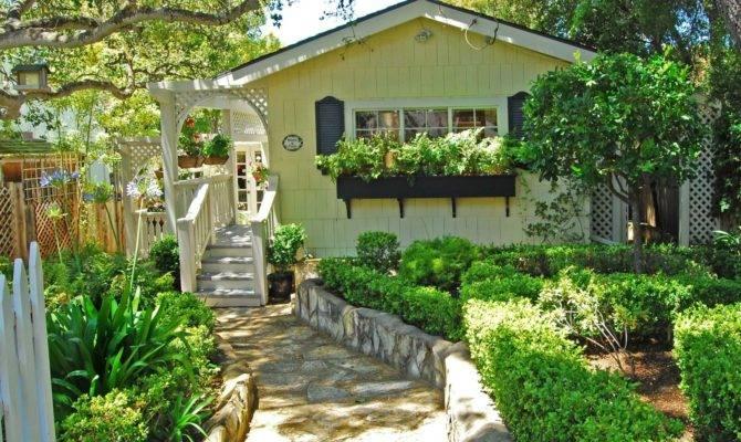 Golden Storybook Cottage Carmel Sea