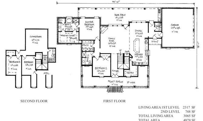 Gomez Acadian House Plans Country French Home
