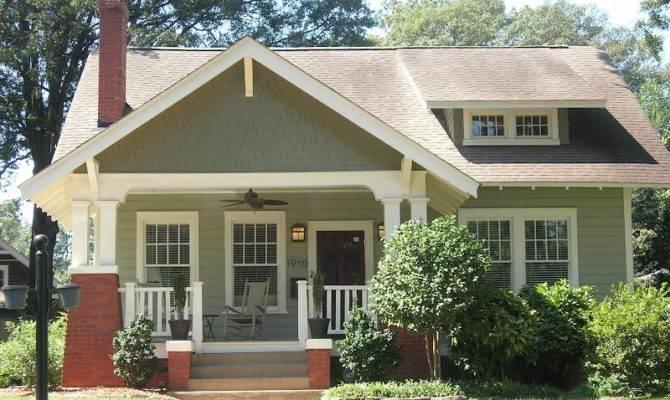 Good Craftsman Home Colors Bungalow Exterior Color