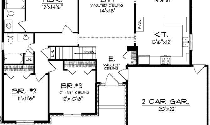 Good Looking Ranch House Plan Floor Master