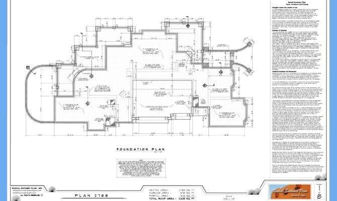 Good Set House Plans Randall Southwest