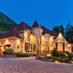 Gorgeous Little Castle Custom Built House Located Mont