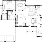 Gorgeous Open Floor House Plans Modern Style Architecture Design