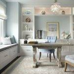 Gorgeous Soothing Pastel Home Office Ideas