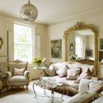 Gorgeous Victorian Living Room Has Impossibly Large Mirror Its