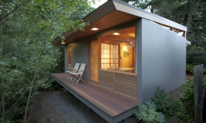 Gorgeous Zen Like Tiny House Spans Generations